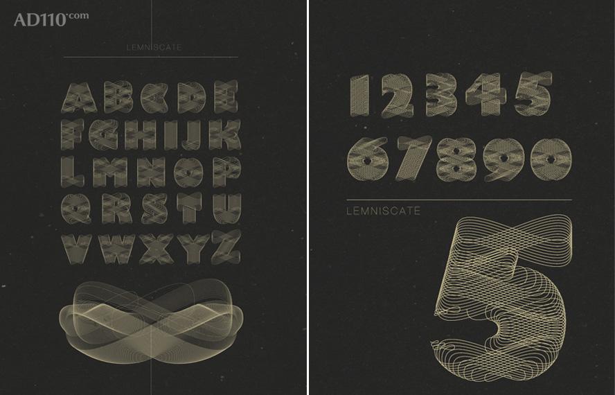 由mix工作室所做的字体设计
