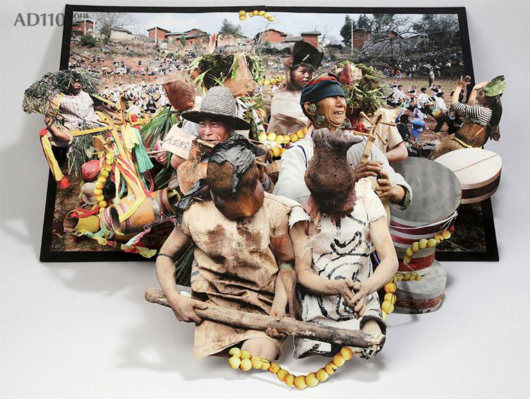 3d民族风情《我们是虎龙人》—— 艺术家傅三三