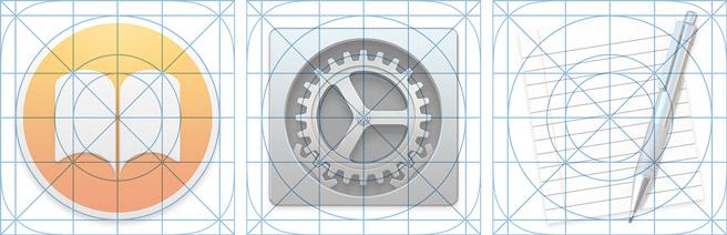 Martiancraft陈子木,上个月苹果发布了最新操作系统OSX Yosemite 的预览版,界面的视觉设计与iOS7的设计语言更加接近了。那些熟悉的模糊背景和半透明材质被添加到UI中,更加的简洁漂亮的界面布局,和全新的图标和字体也都出现新版的系统中。 Yosemite的变化是可喜的。我打算在这篇文章中说说Yosemite中的图标设计。在Yosemite发布之前,Apple在Mac系统上的图标设计规范并不明确,只是提出过一组粗略的List,并在官方的人机交互界面准则(HIG)中提出了一些简单的建议。在Y